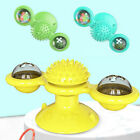 Pet Toys For Cats Interactive Puzzle Training Turntable Windmill Ball WhirlingBE