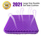 Gel Seat Cushion Double Thick Egg Seat Cushion Non-Slip Cover Breathable Design