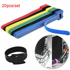 Earphone Mouse Fastening Cable Organizer Wire Management Nylon Strap Cord Tie