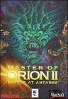 Master of Orion II 2 Macsoft Microprose Vintage Complete Box Manual CD