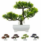 Bonsai Simulation Artificial Plants Flower In Pot Home Office Fake Tree Decor Uk