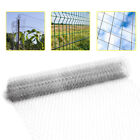 Fence Galvanised /Welded Mesh Aviary Fencing Chicken Wire Garden Privacy Barrier