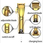 Kemei LED Display Pro Hair Clipper All Metal Body Hair Cutter Electric Blade