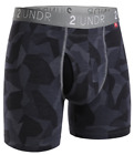 """2UNDR Swing Shift Performance 6"""" Boxer Briefs - Large - FREE SHIPPING"""
