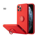 iPhone 12 Case and iPhone 12 Pro Case with Ring Holder Kickstand (6.1 inch 2020)