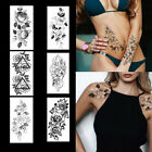 1PC Temporary Tattoo Full Arm Waterproof Tattoo Transfers Body Art Men Women NEW