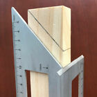 NEW Multifunctional Square 45/90 Degree Gauge Angle Ruler Measuring Tool Charm