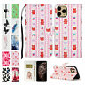 Magnetic Strap Cute Pattern Wallet Stand Case Cover For iPhone 7/8 11 12 Pro Max