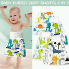 Reusable Baby Infant Diaper Skirt Shorts 2 in 1 Boy Girl Kid Training Skirt US