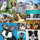 Dogs Full Drill DIY 5D Diamond Painting Embroidery Cross Stitch Kits Home Decor