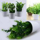 Artificial Flowers Fake Leaf Grass Green Plant Home Bouquet Garden Decor