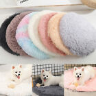 Soft Plush Pet Small Puppy Mat Dog Bed Round Cushion Warm Winter Bed Pet Supply