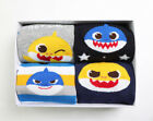 [PinkFong]BabyShark Socks Kids Socks Non-slip Floor Socks Gift Set 4packs