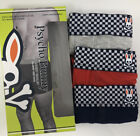 Psycho Bunny 3 Pack Modern Lux Tagless Boxer Brief Gray Black Red New Modal