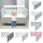 Crib Baby Bedding Set Baby Crib Bumper Safety Baby Bed Cot Protector Cushion Set