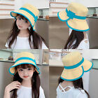 Fisherman Hat with Chin Strap Cotton UV Protection Kids Bucket Hat for Outdoor
