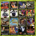 PLAYSTATION 1 Ps 1 - Instructions for Games: A - M