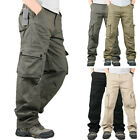 Men Military Army Cargo Combat Trousers Tactical Hiking Climbing Work Long Pants