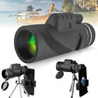 40x60 Zoom Monocular Telescope Camera Lens+Phone Hoder+Tripod for iPhone Samsung
