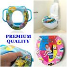 Children Potty Training Seat Baby Kids Toddler Handle Toilet Soft Pad Cushion UK