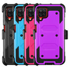 Cover For Samsung Galaxy A12 6.5 inch Heavy Duty Case Built in Screen Protector
