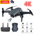 FPV RC Drone with 4K HD Dual Camera WiFi Flying Quadcopter Drone 2 Batteries