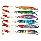 Fishing 6oz 170g Metal Fish Vertical Fish Lures Speed Knife Jigs Lures lot AAA