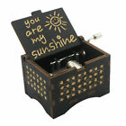 Music Box You are My Sunshine,Wooden Classic Music Box Crafts w Hand Crank Gifts