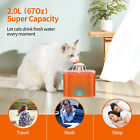 2L Automatic Cat Dog Water Fountain Health Drinking Water Dispenser with Fliter