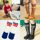 Cartoon Kids Girl Knee High Socks Animal Pattern Cotton Long Socks Warm Stocking