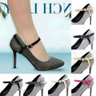 1 Pair PU Leather Shoe Straps Band For Holding Loose High Heeled Shoes Strap