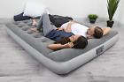 Air Mattress With Built-In AC Pump Quick Inflatable Airbed Twin Full Queen Size