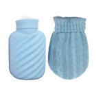 Silicone Hot Water Bottle Ice Bag with Cover Hot Cold Compress