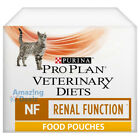 Purina Pro Plan Veterinary Diets NF Renal Function Wet Cat Food Pouches 10 x 85g