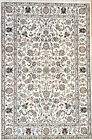 Hand-knotted Rug (Carpet) 4'1X6'2, Nain mint condition