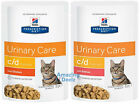 Hills Prescription Diet CD Urinary MultiCare Pouches for Cats 12x85g All Flavour