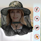 Anti-Mosquito Bug Fly Bee Insect Net Head Mesh Hat Sun Protection Fishing Cap US