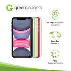 iPhone 11 - 64GB 128GB 256GB Black Green Yellow Red White Purple - Excellent