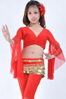 Belly Dance Costume choli Flare top Blouse 9 Colours