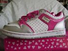 NEW PASTRY GLAM PIE LOW PINK SILV WOMENS GIRLS TRAINERS