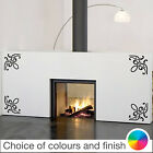 Scroll Corner X4 Wall Sticker Home Decor Bedroom Living Room Kitchen Decal