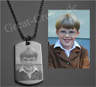 Custom Photo Engraving Dog Tag incl. Your Own Picture, top Quality Pendant