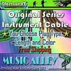 Spectraflex Original Series Instrument Cable With Options and Styles YOU CHOOSE!