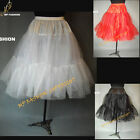 "Black,White,Red, Rock n' Roll Petticoat Lady 50s Underskirt Tutu 26"" UK 8-18 S-L"