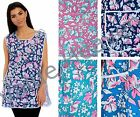 Ladies Floral Tabards Tabard Overall Smock 100% UK Made 8-10 12-14 16-18 20-22