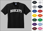 Bobcats College Letters T-shirt