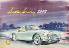 Austin Healey 3000 Vintage Advertising Showroom  Picture Print Poster A1 A3+