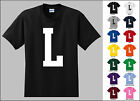 Capital Letter L Alphabet T-Shirt