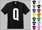 Capital Letter Q Alphabet T-Shirt