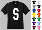 Capital Letter S Alphabet T-Shirt